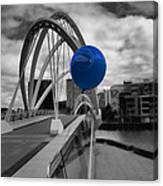 Blue Balloon Canvas Print