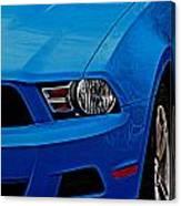 Blue Beauty 001 Canvas Print