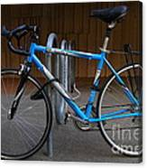 Blue Bicycle . 7d10157 Canvas Print