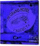 Blue Calcutta Canvas Print
