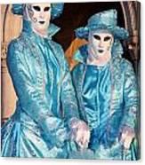 Blue Cane Duo Canvas Print