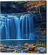 Blue Cascades Canvas Print