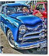 Blue Classic Hdr Canvas Print