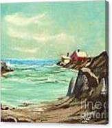 Blue Cove Serenity Canvas Print