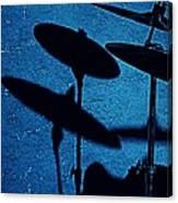 Blue Cymbalism  Canvas Print
