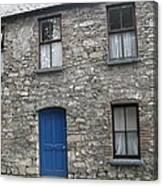 Blue Dublin Door Canvas Print