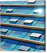 Blue Facade Canvas Print
