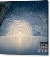 Blue Grotto Of Capri Island Canvas Print