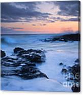 Blue Hawaii Sunset Canvas Print