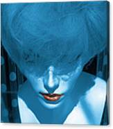Blue Kiss Canvas Print