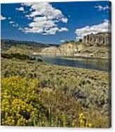 Blue Mesa Reservoir - V Canvas Print