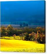 Blue Morning Canvas Print