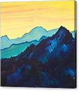 Blue Mountain II Canvas Print