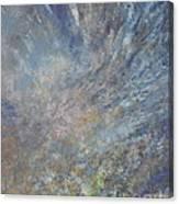 Blue Nebula #1 Canvas Print