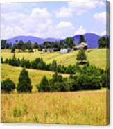 Blue Ridge Farm - 1 Canvas Print