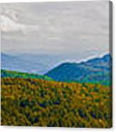 Blue Ridge Panorama Canvas Print