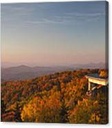 Blue Ridge Parkway Linn Cove Viaduct Canvas Print