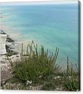 Blue Sea From Seven Sisters Canvas Print