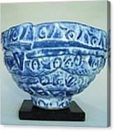 Blue Shaman's Bowl Canvas Print