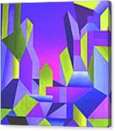 Blue Shift Canvas Print