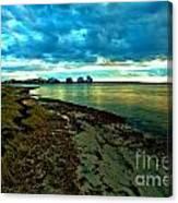 Blue Shores Canvas Print