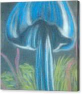 Blue Shroom Canvas Print