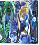 Blue Skies Canvas Print