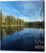 Blue Sky Art Canvas Print