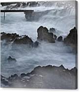 Blue Storm..protaras Canvas Print