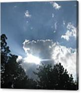 Blue Summer Skys Canvas Print