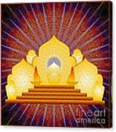 Blue Sun Temple 2012 Canvas Print