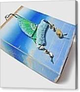 Blue Water Sailing Canvas Print