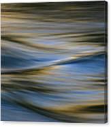 Blue Wave Canvas Print