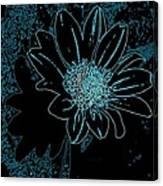 Blue Wildflower   Canvas Print