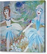 Blueberry Fairies Canvas Print
