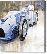 Bluebird 1933 Daytona Malkolm Campbell Canvas Print
