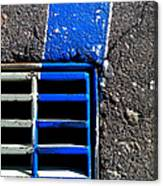 Bluer Sewer Four Canvas Print