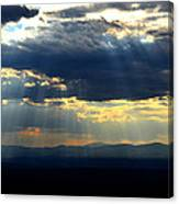 Blueray Panorama Canvas Print