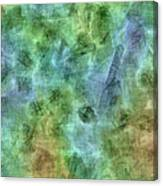 Bluetone Abstract Canvas Print