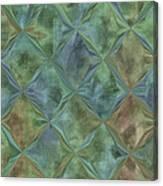 Bluetone Diamonds Canvas Print
