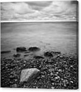 Bluffs Beach Wind 2 Canvas Print