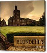 Blundell's School Canvas Print