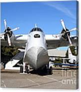 Boac British Overseas Airways Corporation Speedbird Flying Boat . 7d11246 Canvas Print
