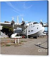 Boac British Overseas Airways Corporation Speedbird Flying Boat . 7d11249 Canvas Print