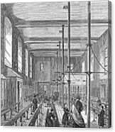 Boarding School, 1862 Canvas Print
