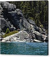 Boat A Rockin Canvas Print