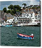 Boat At Brixham Canvas Print