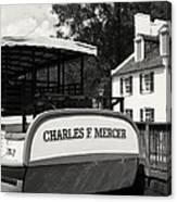 Boat House Blues Canvas Print