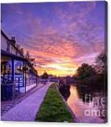 Boat Inn Sunrise 1.0 Canvas Print