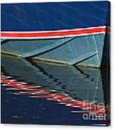 Boat Reflection 2 Canvas Print